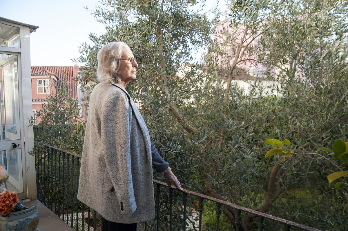 PORTUGAL, LISBON: Portrait of Maria Filomena Mónica, 75 years old, a sociologist and writer, taken at her home.